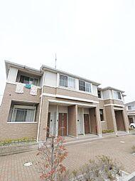 埼玉県川越市並木の賃貸アパートの外観