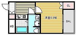 MY江之子島マンション[3階]の間取り