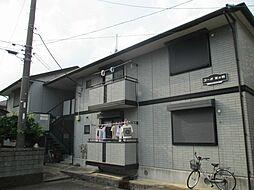 神奈川県平塚市田村7丁目の賃貸アパートの外観