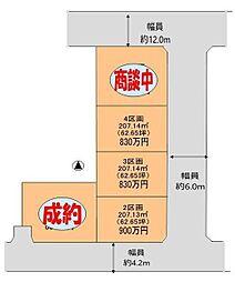 熊谷市樋春 全5区画分譲地4 江南南小学校・江南中学校区域