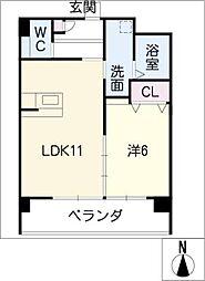 HKTパーク[2階]の間取り