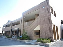 滋賀県愛知郡愛荘町愛知川の賃貸アパートの外観