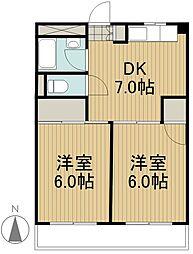 アモ・カネイ[3階]の間取り