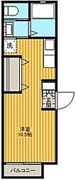 TTハイツ4[102A号室]の間取り