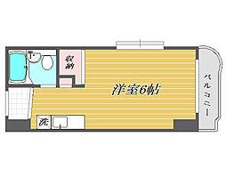 東京都北区浮間3丁目の賃貸マンションの間取り