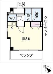 籠田レジデンス[8階]の間取り
