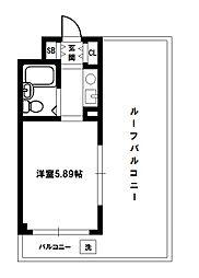 ハイツシグマ[3階]の間取り
