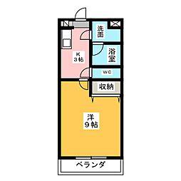 メモリアル・ポート[5階]の間取り
