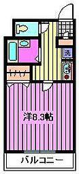 埼玉県さいたま市南区別所7丁目の賃貸マンションの間取り