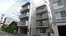 北海道札幌市豊平区豊平五条10の賃貸マンションの外観