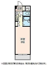 埼玉県鴻巣市大間4丁目の賃貸マンションの間取り