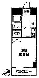 SEA茅ヶ崎ビル[202号室]の間取り