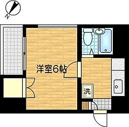ディアコート青木[3階]の間取り