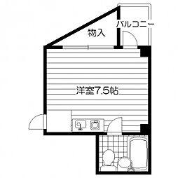 プレアール松虫[3階]の間取り