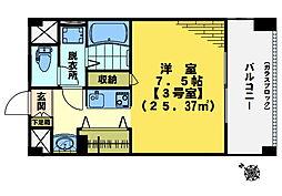 東中野エイトワンマンション[403号室]の間取り