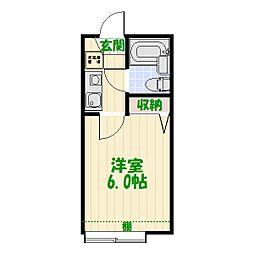東京都足立区北加平町7丁目の賃貸アパートの間取り