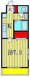 エクセレンテII[1階]の間取り