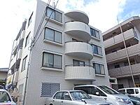 外観(鉄筋コンクリート造・全戸角部屋のファミリータイプ)