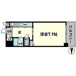 ルミエール日吉[8階]の間取り