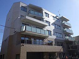 北海道札幌市中央区南八条西21丁目の賃貸マンションの外観