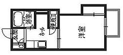 パインコート[1階]の間取り