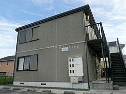 滋賀県大津市雄琴北2丁目の賃貸アパートの外観
