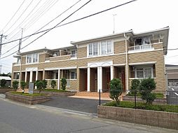 埼玉県春日部市増富の賃貸アパートの外観