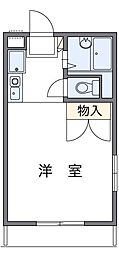 Subulime Fuji (サブライム フジ)[2階]の間取り