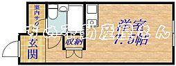 関目グローリーハイツ[5階]の間取り