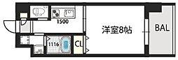グランドゥーエ永和駅前[206号室]の間取り