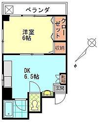 エクセル賀来北[2階]の間取り