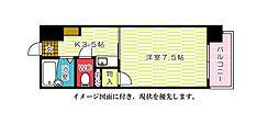 ジャスティヒルト高須--[405号室]の間取り