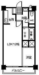 K'sハウス[205号室]の間取り