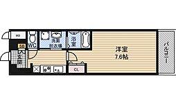 コンフォレスパ新大阪[10階]の間取り