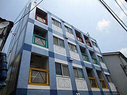 東京都荒川区荒川4丁目の賃貸マンションの外観