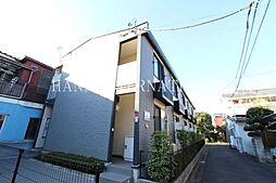 東京都府中市片町1丁目の賃貸アパートの外観