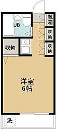 コーポエデン[105号室号室]の間取り