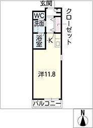 マナーハウス[2階]の間取り
