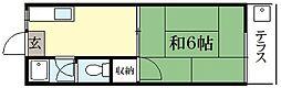 碧叡荘[2階]の間取り