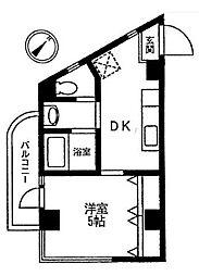 グリーンピア新横浜[3階]の間取り