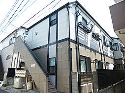 東京都北区田端1丁目の賃貸アパートの外観