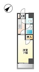 芳野アミティ[2階]の間取り