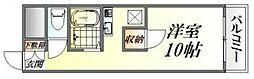 川本マンション[202号室号室]の間取り