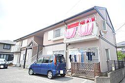 埼玉県越谷市東越谷10の賃貸アパートの外観