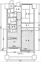 グランドールサンパティオ[3階]の間取り