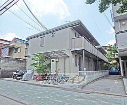 京都府京都市北区紫野西蓮台野町の賃貸アパートの外観