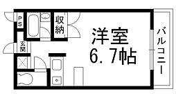 マンションOZ[0400号室]の間取り