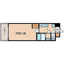 パークフラッツ尼崎[13階]の間取り
