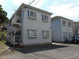 神奈川県横浜市神奈川区三ツ沢西町の賃貸アパートの外観