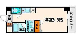 大阪府大阪市都島区中野町5丁目の賃貸マンションの間取り